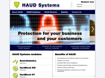 Haud Website
